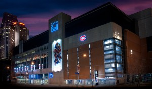 Belle Center.Home of the Montreal Canadians - Click for larger picture